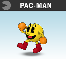 SSB4 - Pac-Man by Antonator