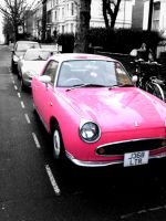 Pink Car. by Pictogram87