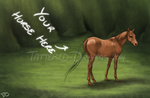 Your Horse Here Auction - CLOSED by Tattered-Dreams