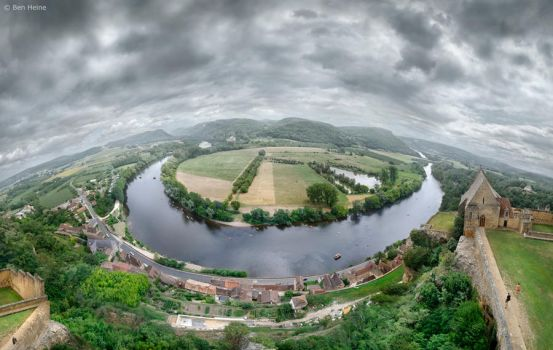 Dordogne River by BenHeine
