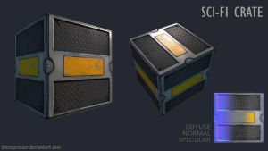 SciFi Crate by theExpressor