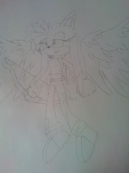 Katee the Angel Cupid by SonictheHedgehog1