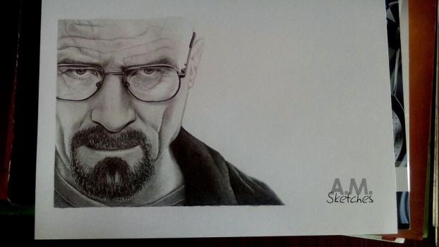 Walter White by AMSketches