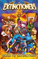 Extinctioners TPB available digitally by Ebonyleopard