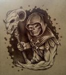 Skeletor by thedavemyers