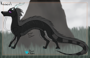 Kaseel's Ref Sheet by Squiggy13