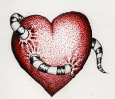 heart-worm by isnevertimeatall
