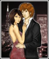 Downtown Romance by Wakamoley