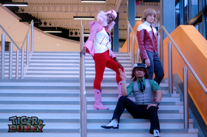 Tiger and Bunny Cosplay: 100 Power Fire by ManticoreEX