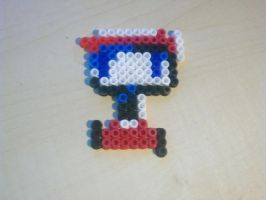 Quote, Cave Story, beads by naruedyoh
