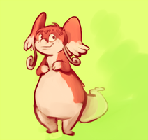 The best Audino by CrazyRatty