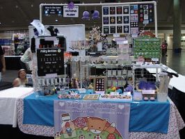 My Otakon Setup by egyptianruin