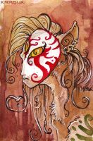 Sphinx.Watercolors.2010 by BonePileStudio
