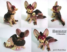 Sonar figurine by rah-bop