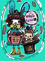 cute easter by flayravenz