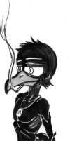 And the crow again by Shadow-Nexus