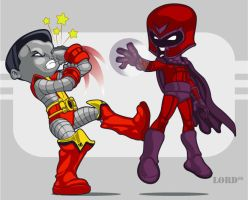 Quit hitting yourself... by lordmesa