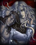 Alucard and Richter color by Candra