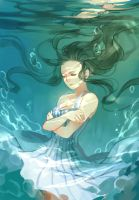 under the water2 by MuQie