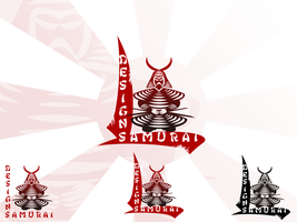 Samurai Design Logo by r77adder