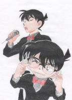 Conan And Shinichi by CNStar92