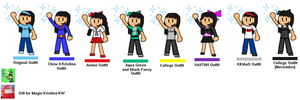 (Gift) Kristina SSB 3DS/Wii U Colours by ElectricStaticGamer