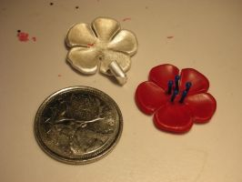 Jumbo flower wax and casting by nellyvansee