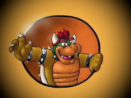 Just A Doodle: Bowser by SmashingRenders