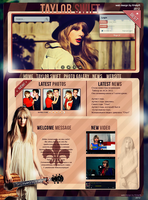 Web Design with Taylor Swift by KristyRomanchuk