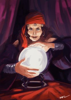 Fortune Teller by tohdraws