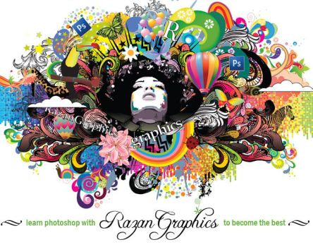 RazanGraphics Photoshop Course by razangraphics