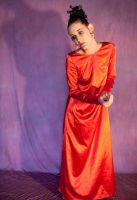 red  gown 34 by DigitalAlchemy-Stock