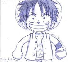 Chibi Luffy :D by DaniEchidna
