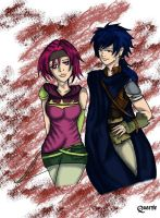 Neimi and Colm by x-Dragonqueen-x