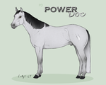 PD Power Doc - QH by painted-cowgirl