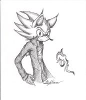 .:RQ:. G-L the Hedgehog by nightmarn
