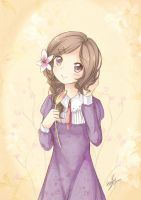 Lily Drops - Compass Artbook by haneiy