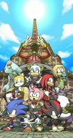 Sonic Adventure and Sonic Adventure 2 cast by shaolinfeilong