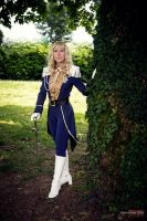 Lady Oscar (ready for the French Guard) by KurimiMami