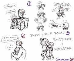 Fable 3 - Royal doodlesss by sallychan