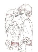 Hiccup and Astrid HTTYD by Annie-cant-draw