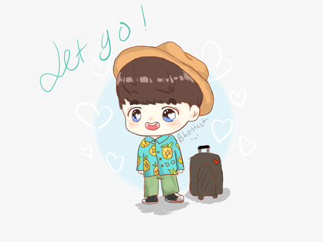 [FA]  Let go with Kyungsoo {First time} by BHottest