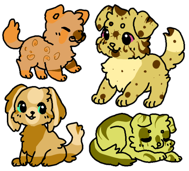 CHEAP Dog/Canine Adopts (OPEN) by cuteanimaladoptable