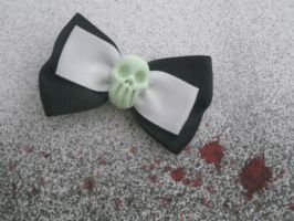 Bride of Frankenstein bow by rude-and-reckless
