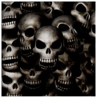 Grungy Skulls by Manixolated