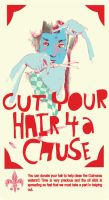 CUT YOUR HAIR FOR A CAUSE by paperdull