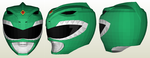 Dragon Ranger Helmet Papercraft by Pastel-Leaf