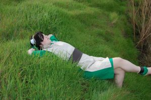 Toph: Relaxing by Bodici22
