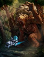 Rancor Redo by Davesrightmind