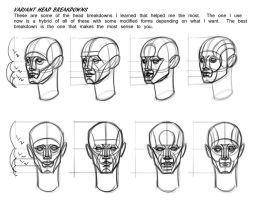 Some Head Breakdown Variants by FUNKYMONKEY1945
